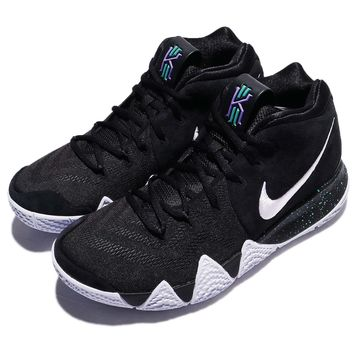 Nike Kyrie 4 EP IV Irving Ankle Taker Black Ice White Men Basketball 943807-002