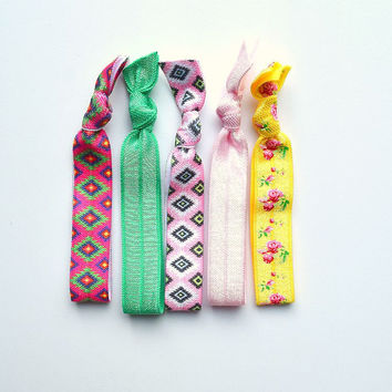 Gentle Fabric Hair Ties | Hair Accessories