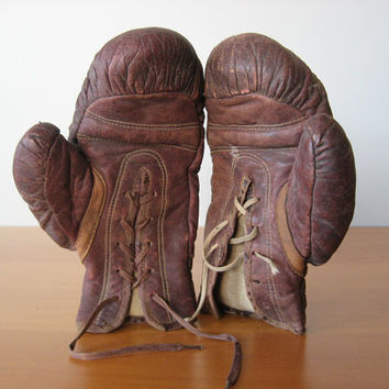 Vintage Kids Boxing Gloves - Everlast