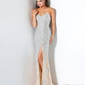 Long strapless gown 4247 - Prom Dresses