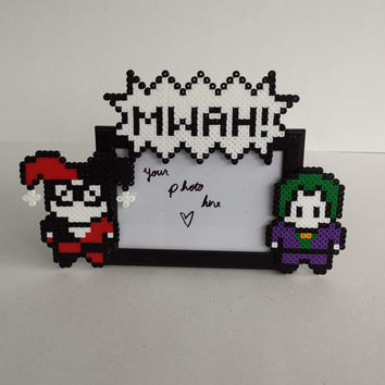 Harley Quinn and Joker Picture Frame - Couples Picture Frame