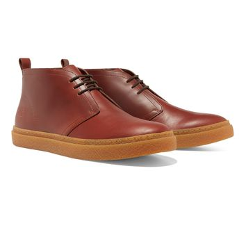 Fred Perry - Hawley Mid Leather Chestnut