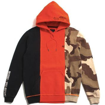 Many Wars Hoodie Neon Orange
