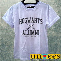 Hogwarts Alumni Harry Potter Women T Shirt