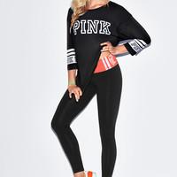 Yoga Leggings - PINK - Victoria's Secret