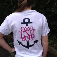 Anchor Monogram TeePurchase