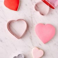 Assorted Heart Cookie Cutter Set | Urban Outfitters