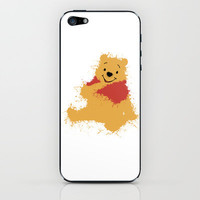 Winnie The Pooh iPhone & iPod Skin by DanielBergerDesign