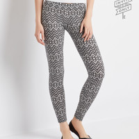 Aeropostale  Invite Only Southwest Chevron Leggings