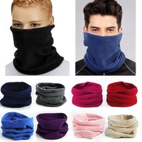 Multifunctional 3 In 1 Scarf Unisex Thermal Warm Scarf Neck Warmer Hat