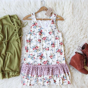 Autumn Rose Layering Tank