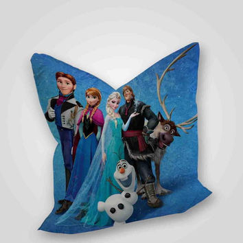 frozen disney, pillow case, pillow cover, cute and awesome pillow covers