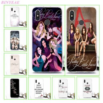 TPU Soft Case For Xiaomi 8 8SE Pretty Little Liars simple Transparent Printing Drawing Silicone Phone Cases Cover