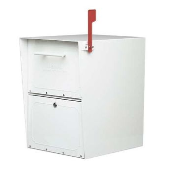 Architectural Mailboxes 5100W Oasis Powder Coat White Mail Box