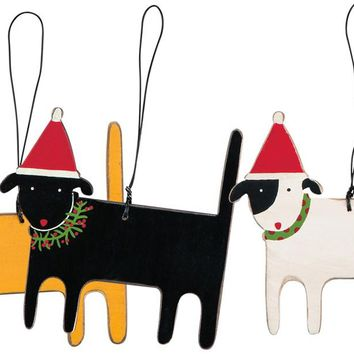 Christmas Dog Ornament - 3 Styles