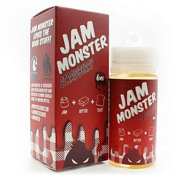 Jam Monster - Strawberry (100ml)