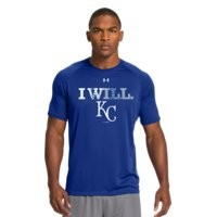 Under Armour Men's Kansas City Royals UA Tech™ T-Shirt