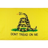 Valley Forge Flag Valley Forge 3 x 5 ft. Gadsden The Tea Party Flag, Nylon, 3 x 5 ft.