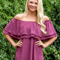 Catching Stares Top in Mauve | Monday Dress Boutique