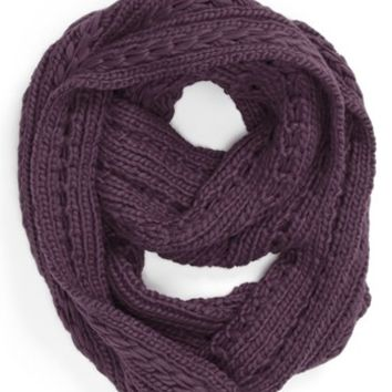 Lulu Cable Knit Infinity Scarf (Online Only) | Nordstrom