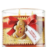 3-Wick Candle Pumpkin Gingerbread