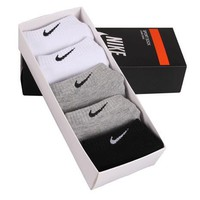 Nike Womens 5 Pairs Cotton Socks Sport Socks