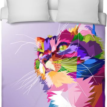 ROB Adoring Cats Duvet Cover