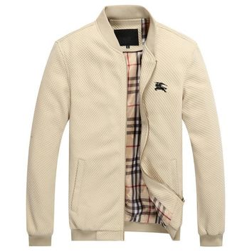 Day-First™ Boys & Men Burberry Cardigan Jacket Coat