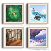 Mini Deluxe Prints Set (8) - HJ-Story