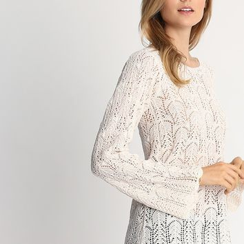 Monaco Crochet Sweater | Ruche