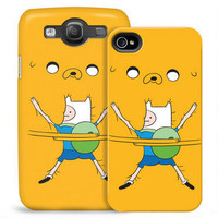 Adventure Time Finn and Jake Bro Hug Phone Case for iPhone and Galaxy |