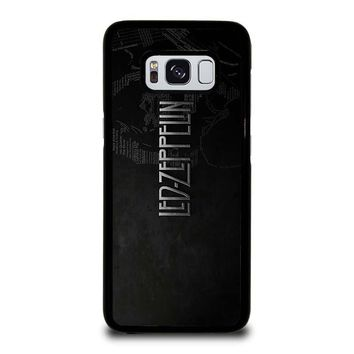 LED ZEPPELIN LYRIC Samsung Galaxy S8 Case Cover