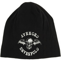 Avenged Sevenfold Men's Deathbat Beanie Black