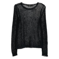 Buy Mango Open Knitted Jumper | John Lewis
