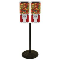 Pro Line Double Gumball & Candy Machine with Retro Stand