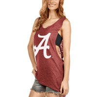 Alabama Crimson Tide Women's Muscle Tank Top – Crimson