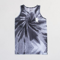 Digi Tie-Dye Tank in Black/White