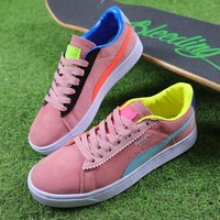 Michael Lau x PUMA Sample Suede Casual Shoes 362327-01 Pink Sneaker - Best Online Sale