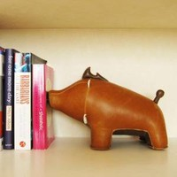 Zuny Animal Bookend - Boar - Home & Office - Yanko Design