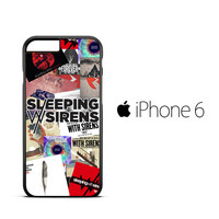 sleeping with sirens album cover X2277 iPhone 6 Case