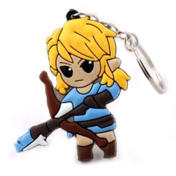 The Legend of Zelda Breath of the Wild Keychain 2