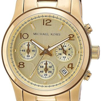 Michael Kors Womens  - Runway Chronograph