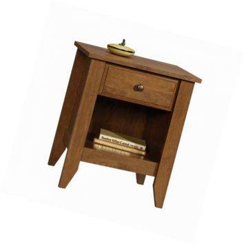 Sauder Shoal Creek Night Stand, Oiled Oak