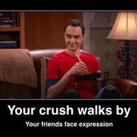 Friends face expression