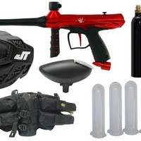 Tippmann Gryphon Red Paintball Gun Player Kit Tippmann Gun Packages - GUN KIT/PACKAGE - By Tippmann at Paintball Discounters