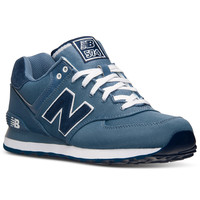 New Balance Men's 574 Pique Polo Casual Sneakers from Finish Line