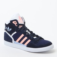 adidas Extaball High-Top Sneakers - Womens Shoes - Blue