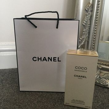 Chanel Coco Mademoiselle Shower Gel BNWB and gift bag