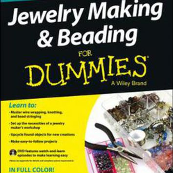 Jewelry Making & Beading for Dummies: Heather Heath Dismore: 9781118497821: