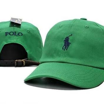 Polo Ralph Lauren Women Men Embroidery Solid Color Baseball Cap Hat-1